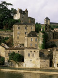 Village of Puy Leveque, Near Cahors, Lot, Midi-Pyrenees, France Photographic Print by Michael Busselle