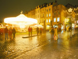 Christmas Market, Place Saint Louis (St. Louis Square), Metz, Moselle, Lorraine, France Photographic Print by Bruno Barbier