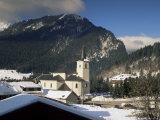 St. Pierre d'Entremont, Chartreuse, Savoie, Rhone Alpes, France Photographic Print by Michael Busselle