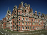 Royal Holloway College, Egham, Surrey, England, United Kingdom Photographic Print by Jean Brooks