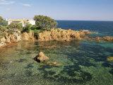Esterel Corniche Near St. Raphael, Var, Cote d'Azur, Provence, France, Mediterranean Photographic Print by Michael Busselle