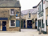 Portland Square, Bakewell, Peak District, Derbyshire, England, United Kingdom Photographic Print by Pearl Bucknall