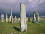 Callanish Standing Stones, Isle of Lewis, Outer Hebrides, Western Isles, Scotland Photographic Print by Jean Brooks