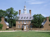 Exterior of Governor's Palace, Colonial Architecture, Williamsburg, Virginia, USA Photographic Print by Pearl Bucknall