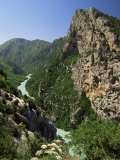 Verdon Gorges, Alpes-De-Haute-Provence, Provence, France Photographic Print by Michael Busselle