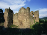 Grosmont, Ruined 13th Century Castle, Grosmont, Monmouthshire, Wales, United Kingdom Photographic Print by Jean Brooks