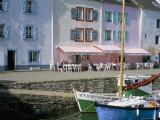 Port Sauzon, Belle Ile En Mer, Breton Islands, Morbihan, Brittany, France Photographic Print by Bruno Barbier