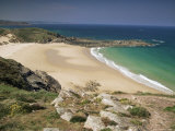 Beach Near Cap Frehel, Emerald Coast, Brittany, France Photographic Print by Michael Busselle