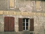 Village of Jouey Le Potier, Loiret, Loire, Centre, France Photographic Print by Michael Busselle