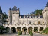 Chateau La Rivere, Fronsac, Aquitaine, France Photographic Print by Michael Busselle