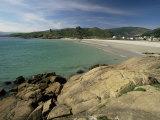 Seascape Near La Coruna, Ria De Muros Y De Noya, Galicia, Spain Photographic Print by Michael Busselle