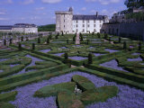 Formal Gardens, Chateau of Villandry, Indre Et Loire, Loire Valley, France Photographic Print by Bruno Barbier