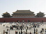The Forbidden City, Beijing, China Photographic Print by Angelo Cavalli