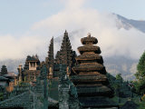 Hindu Temple of Besakih, Island of Bali, Indonesia, Southeast Asia Photographic Print by Bruno Barbier