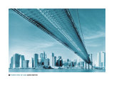 Manhattan Skyline Prints by David Noton