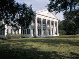 Madewood Plantation House, on the Lafourche Bayou, Mississippi, Louisiana Photographic Print by Bruno Barbier