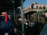 Rialto Bridge, Grand Canal, Venice, Unesco World Heritage Site, Veneto, Italy Photographic Print by Bruno Barbier