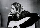 Kurt Cobain Affiche