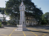 Clock Tower, Victoria, Island of Mahe, Seychelles, Indian Ocean, Africa Photographic Print by Bruno Barbier