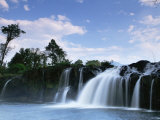 Waterfall, Bolaven Plateau, Laos, Indochina, Southeast Asia Photographic Print by Colin Brynn