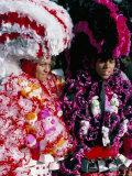 Carnaval Sur Le Mayo (Carnival), Santo Domingo, Dominican Republic, Hispaniola Photographic Print by Bruno Barbier