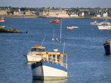 Town of Roscoff, Finistere, Brittany, France Photographic Print by Bruno Barbier