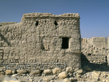 Ghost Town of Izki, Near Nizwa, Sultanate of Oman, Middle East Photographic Print by Bruno Barbier