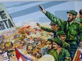 Revolutionary Art, Museum of the Revolution, Havana, Cuba Photographic Print by Bruno Barbier