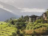 Punakha, Himalayas, Bhutan, Photographic Print