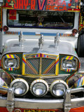 Jeepney, Manila, Island of Luzon, Philippines, Southeast Asia Photographic Print by Bruno Barbier
