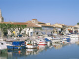 Quai De La Paix, Le Canal Du Rhone at Sete, Town of Beaucaire, Gard, Languedoc Roussillon, France Photographic Print by Bruno Barbier