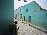 Village of Adua, Tigre Region, Ethiopia Photographic Print by Bruno Barbier