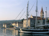 Port of Milna, Ile De Brac, Dalmatian Coast, Croatia, Adriatic Photographic Print by Bruno Barbier