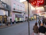 Bourbon Street, French Quarter, New Orleans, Louisiana, USA Photographic Print by Bruno Barbier