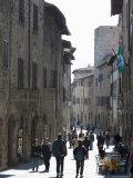 San Gimignano, Tuscany, Italy Photographic Print by Angelo Cavalli