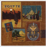 Egypte Prints by Bruno Pozzo