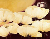Yellow Poppies II Prints by Jettie Roseboom