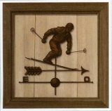 Girouette Skieur Prints by Thierry Verger