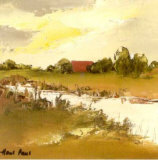 Farmlands VII Print by Hans Paus