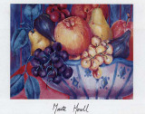 Autumn Fruit Print by Maite Morell