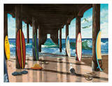 Pier Poster by Scott Westmoreland