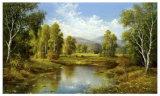 River Landscape Posters by H. Buchner