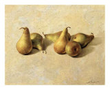 Pears Art by Joaquin Moragues