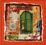 La Porte du Paradis Prints by Céline Bedat