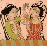 Les Petits Cadeaux Poster von Cécile Veilhan
