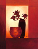 Black Vase II Prints by Jettie Roseboom