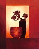 Black Vase II Posters by Jettie Roseboom