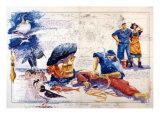 Iles de Glenan Print by Gildas Flahault