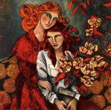 Les Amours du Cerisier Posters by Delphine Cossais