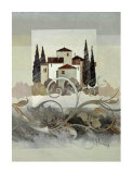 Villa Toscana II Prints by Franz Heigl